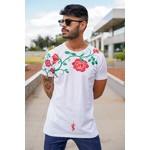 T-shirt Long Red Roses