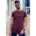 T-shirt Long Parma Burgundy
