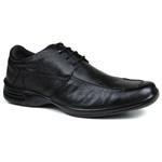Sapato Social em Couro Floater Preto 730-FRC