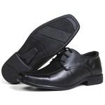 Infantil Sapato Social em Couro Floater Preto 300