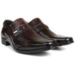 Sapato Social em Couro café 2335