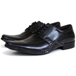 Sapato Social em Couro Preto 2072