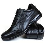 Sapato Social em Couro Preto 601