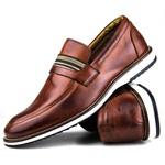 Brogue Premium Couro Comfort Havana Andora 8000