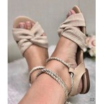 Sandalinha Baixa Com Amarração Linhão