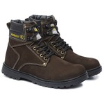 Tênis Adventure Cano Alto Work Boot Marrom