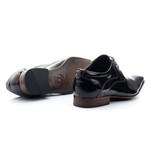 Sapato Social Clássico em Verniz cor Preto Ref.1481-379