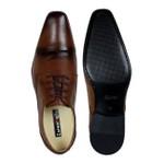 Sapato Social Masculino de Amarrar Solado em Couro