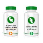 Kit Termogênico com Higenanime + Altilix 200mg 60 cápsulas