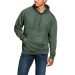 Moletom Dark Forest Green Heather Logo Ariat