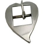 Fivela Coração de Bico para Cabeçada 16 mm Inox