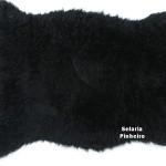Pelego Natural Penteado 100 x 70cm (Preto)