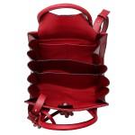 Bolsa Selten Handbag Sanfonada Feminina Vermelha