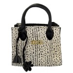 Bolsa Selten Handbag Sanfonada Feminina Creme
