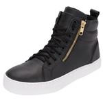 Bota Selten Treino Sneaker Preta Frete Incluso