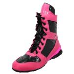 Bota Treino Academia Fitness Pink e Preta - Selten