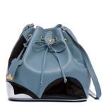 Bolsa Mickey Saco + Carteira Azul Claro