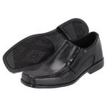 Sapato Social em Couro Infantil cor Preto