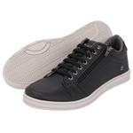 Sapato Casual Masculino Preto com Zíper lateral