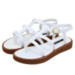 Sandália Gladiadora Caribe Branca - Selten