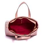 Bolsa Feminina Selten de Mão com Alça Transversal Rosa