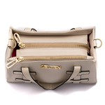 Bolsa Feminina Selten de Mão com Alça Transversal Branca
