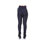 Calça Jeans Feminina Cintura Alta Empina Bumbum Azul