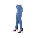 Kit Calça Jeans Feminina Cintura Alta 3 peças