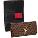 Kit de Bolsa Feminina com 2 Bolsas e Carteira Marrom Dubai - Selten