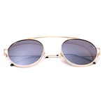 Óculos De Sol Feminino Aviador Selten + Porta Óculos de Brinde