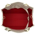 Kit de Bolsa Feminina Creme com Carteira – Selten