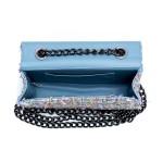 Kit de Bolsa Feminina Azul com Carteira Marrocos - Selten