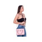 Bolsa Feminina Transversal Miami Rosa