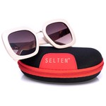 Óculos De Sol Feminino Quadrado Selten