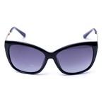 Óculos De Sol Feminino Gatinho Preto Selten