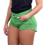 Short Feminino Verde