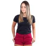 Short Feminino Vermelho Cereja