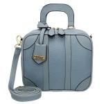 Bolsa Feminina Quadrada Sydney Azul Claro