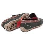 Sapato mocassim masculino Couro nobuck