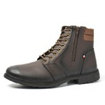 BOTA CASUAL MASCULINA WEST - FRANCE CAFÉ