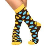 Meia SOCKS ON THE BEAT Polka