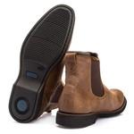 Botina Anatômica Vimar Boots 87001 Rustick Camel