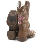 Bota Texana Feminina High Country 2150 Crazy Horse Havana