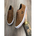 SAPATENIS FRED PERRY MARROM
