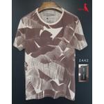 Camiseta RSV Floral Marrom