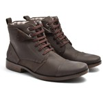 BOTA MASCULINA BLUEBERRY LOW RIDER CHOCOLATE