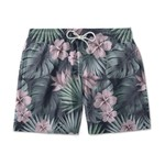 SHORT TACTEL USETHUCO TROPICAL FLOWERS