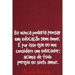 Bolsa Paulo Freire Bordô