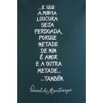 Camiseta Oswaldo Montenegro Verde Musgo