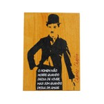 Quadrinho Charles Chaplin